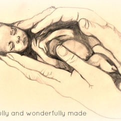baby-in-hands-pencil-sketch