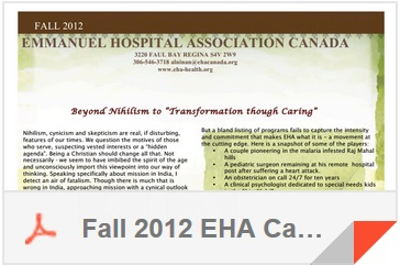 Christmas 2011 EHA Canada Newsletter